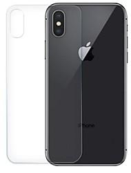 Недорогие -AppleScreen ProtectoriPhone XS HD Защитная пленка для задней панели 1 ед. Закаленное стекло