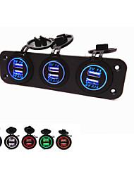 Недорогие -lossmann жарко! три отверстия панели с USB. водонепроницаемый мода красивая