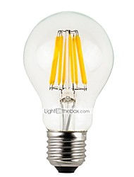 abordables -6pcs 4 W 300 lm E26 / E27 Ampoules à Filament LED A60(A19) 4 Perles LED LED Haute Puissance Intensité Réglable Blanc Chaud