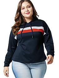 abordables -Sweat à capuche pour femme en vrac - à capuche géométrique bleu marine xl