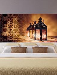 Недорогие -Декоративные наклейки на стены - 3D наклейки Пейзаж / Религиозная тематика Спальня / Детская