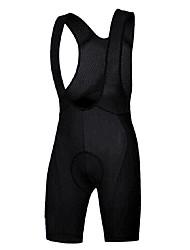 Недорогие -TELEYI Муж. Велошорты-комбинезоны Велоспорт Велошорты Однотонный Черный Средний уровень Горные велосипеды Свободное облегание Одежда для велоспорта / Эластичная