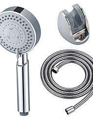 Недорогие -многофункциональный ручной душ напора бустер душ розы пять-функция massgage дождь напыленного DIRP душ сопло со шлангом и основание установить три