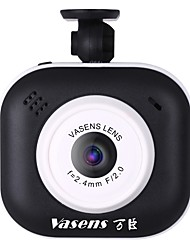 Недорогие -Vasens 1080p Мини / Милый / Контроль 360 ° Автомобильный видеорегистратор 140° Широкий угол 1/4 дюймовый CMOS PC7030 2 дюймовый LCD Капюшон с G-Sensor / Режим парковки / Обноружение движения