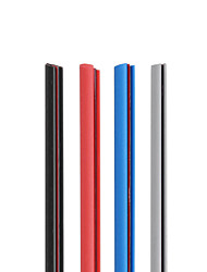 Недорогие -5 m Автомобильная бамперная лента для Двери автомобиля внешний Общий Ластик Назначение Универсальный Все года Все модели