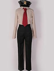 זול -קיבל השראה מ קוספליי קוספליי אנימה תחפושות קוספליי חליפות קוספליי אחיד חולצה / עליון / מכנסיים עבור בגדי ריקוד גברים / בגדי ריקוד נשים