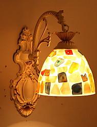 economico -Creativo Retrò / vintage Lampade da parete Camera da letto / Al Coperto Resina Luce a muro 220-240V 40 W