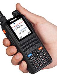 Недорогие -helida cp-uv2000 цветной дисплей Walkie Talkie 5 Вт УКВ / УВЧ трехдиапазонный 136-174 / 200-260 / 400-520 МГц 128-канальный портативный двухстороннее радио