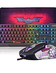 Недорогие -Кабель Комбинация клавиатуры мыши Новый дизайн Автоматическая перезарядка Игровые клавиатуры Gaming Mouse 3200 dpi 6 pcs