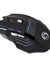 Недорогие -OEM A868 Проводной USB Gaming Mouse / Управление мышью LED подсветка 5500 dpi 7 pcs Ключи 7 программируемых клавиш