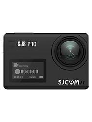Недорогие -SJCAM SJ8 Pro 4000 x 3000 пиксель WiFi / Водоотталкивающие / Обнаружение движения 30fps 8X ± 2 EV с шагом ≤3 дюймовый 12 MP 128 GB H.265 / H.264 Английский / Французский / Немецкий