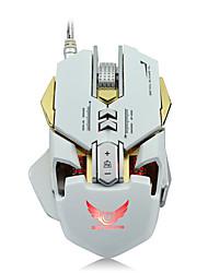 Недорогие -ZERODATE G9 Проводной USB Gaming Mouse / Управление мышью LED подсветка 5500 dpi 7 Регулируемые уровни DPI 12 pcs Ключи 7 программируемых клавиш
