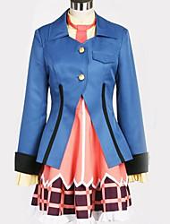 Недорогие -Вдохновлен Косплей Косплей Аниме Косплэй костюмы Японский Косплей Костюмы Английский / Современный стиль Пальто / Кофты / Платье Назначение Муж. / Жен.