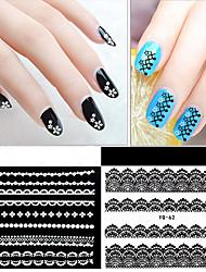 economico -30 pcs Adesivi in pizzo Serie romantica manicure Manicure pedicure Migliore qualità Alla moda Quotidiano