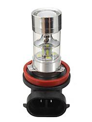 halpa -1 Kappale H8 Auto Lamput 4.8 W SMD 2835 550 lm 12 LED Sumuvalot / Huomiovalot Käyttötarkoitus Universaali General Motors Kaikki vuodet