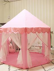 Недорогие -портативные игрушечные палатки для детей девочка мальчик открытый крытый театр принцессы замок