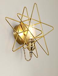 economico -Creativo Semplice Lampade da parete Camera da letto Metallo Luce a muro 220-240V 40 W