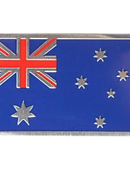 Недорогие -Алюминиевый сплав 3d значок австралия австралийский флаг шаблон наклейка эмблема decorat ион