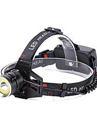 Недорогие -U'King Налобные фонари Фары для велосипеда LED излучатели 2000 lm 4.0 Режим освещения с USB кабелем Портативные Прочный Походы / туризм / спелеология Повседневное использование Велосипедный спорт