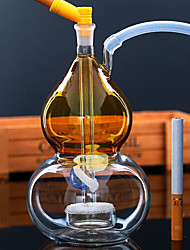 رخيصةأون -الشيشة زجاج تقليدي بسيط التبغ والنفط