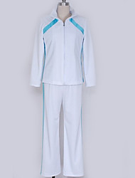 baratos -Inspirado por Haikyuu Fantasias Anime Fantasias de Cosplay Uniformes Escolares Simples Blusa / Calças / Mais Acessórios Para Homens / Mulheres