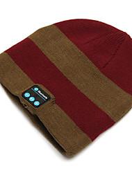 Недорогие -мотоциклетная теплая вязаная шапка музыкальная шапка-гарнитура ecouteur mic с функцией bluetooth