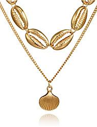 Недорогие -женское ожерелье из сплава