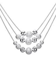 Недорогие -женская мода / многослойный сплав ожерелье