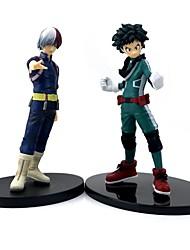 ieftine -Anime de acțiune Figurile Inspirat de Meu erou Academia luptă pentru Toți / BOKU nici un erou Academia Midoriya Izuku Todoroki Shoto PVC 16 cm CM Model de Jucarii păpușă de jucărie
