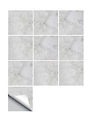 Недорогие -Декоративные наклейки на стены - 3D наклейки Абстракция / Геометрия Ванная комната / Кухня