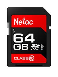 Недорогие -Netac 64 Гб карта памяти UHS-I U1 / Class10 p600