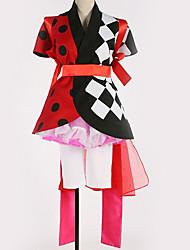 זול -קיבל השראה מ קוספליי קוספליי אנימה תחפושות קוספליי חליפות קוספליי תבנית גאומטרית שמלה / עוד אביזרים / תחפושות עבור בגדי ריקוד גברים / בגדי ריקוד נשים