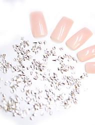 Χαμηλού Κόστους -Μεταλλικό Κοσμήματα Νυχιών Για Διαφανές αυτοκόλλητο / Mini Style / Χαλαρή Εφαρμογή Σειρά Κοσμημάτων Ρομαντική σειρά Σειρά μηνυμάτων τέχνη νυχιών Μανικιούρ Πεντικιούρ Πανκ / Μοντέρνο