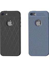 Недорогие -HOCO Кейс для Назначение Apple iPhone 6 Plus / iPhone 6s Защита от удара / Матовое Кейс на заднюю панель Полосы / волосы Мягкий ТПУ для iPhone 8 Pluss / iPhone 8 / iPhone 7 Plus