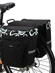 Недорогие -ROSWHEEL 30 L Сумка на багажник велосипеда / Сумка на бока багажника велосипеда / Сумки на багажник велосипеда Водонепроницаемость, Регулируется, Большая вместимость Велосумка/бардачок Сетка / 600D
