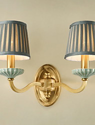 economico -Creativo Semplice Lampade da parete Camera da letto / Al Coperto Metallo Luce a muro 220-240V 40 W