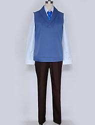 Недорогие -Вдохновлен Косплей Косплей Аниме Косплэй костюмы Японский Косплей Костюмы Английский Жилетка / Блузка / Кофты Назначение Муж. / Жен.