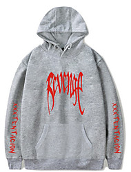 hesapli -uzun kollu erkek hoodie - renk bloğu kapüşonlu pembe m