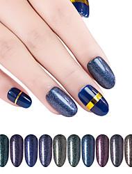 economico -12 pcs Glitter Migliore qualità Mini Fashion manicure Manicure pedicure Quotidiano Alla moda / Colorato