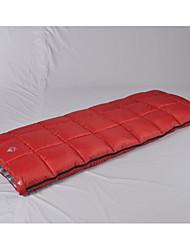 Недорогие -Спальный мешок на открытом воздухе 0 °C Прямоугольный Полиэстер Дожденепроницаемый Быстровысыхающий Воздухопроницаемость Пригодно для носки Мягкость для