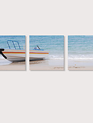 Недорогие -С картинкой Отпечатки на холсте - Натюрморт Фото Modern