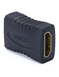 Недорогие -Разъем HDMI Женский Женский конвертер адаптер для ноутбука, проектор, монитор HDTV PS3 игровой ящик разъем расширения HDMI разъем