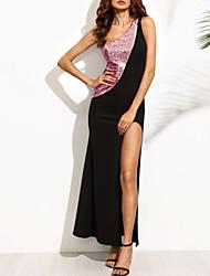 cheap Party Dresses-Women  039 s Party   Birthday Sheath Dress - Solid 2d05c0b73