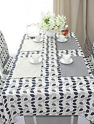 baratos -Moderna Poliéster Elástico Tricotado 100g / m2 Quadrada Toalhas de Mesa Geométrica Decorações de mesa 1 pcs
