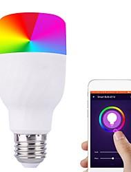 Недорогие -7 Вт E27 B22 Wi-Fi голосовой контроль светодиодные лампы RGB энергосберегающие затемнения красочные смарт-лампочки совместимы alexa Google Dropshipping