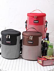 저렴한 -20 L 캠핑 쿨러 - 경량, 비 방지, 착용 가능한 집 밖의 하이킹, 캠핑 천 블랙, 커피, 레드