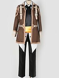Недорогие -Вдохновлен Косплей Косплей Аниме Косплэй костюмы Японский Косплей Костюмы Особый дизайн Блузка / Кофты / Брюки Назначение Муж. / Жен.