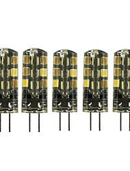 Недорогие -5 шт. 2 W 180 lm G4 Двухштырьковые LED лампы T 24 Светодиодные бусины SMD 2835 Милый Тёплый белый Холодный белый 12 V