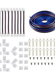 저렴한 -KWB 1 개 스트립 라이트 액세서리 ABS + PC 전기 케이블 다양한 색상 LED 스트립 조명