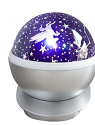 povoljno -1pc LED noćno svjetlo Purpurno USB Kreativan <=36 V